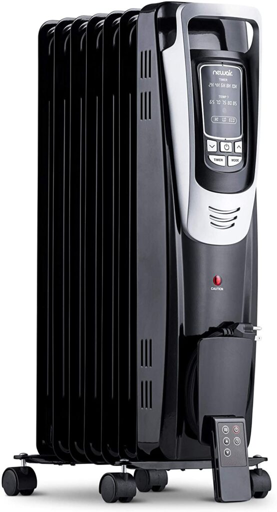 Best Oil Filled Space Heater Review In 2021-10TechPro