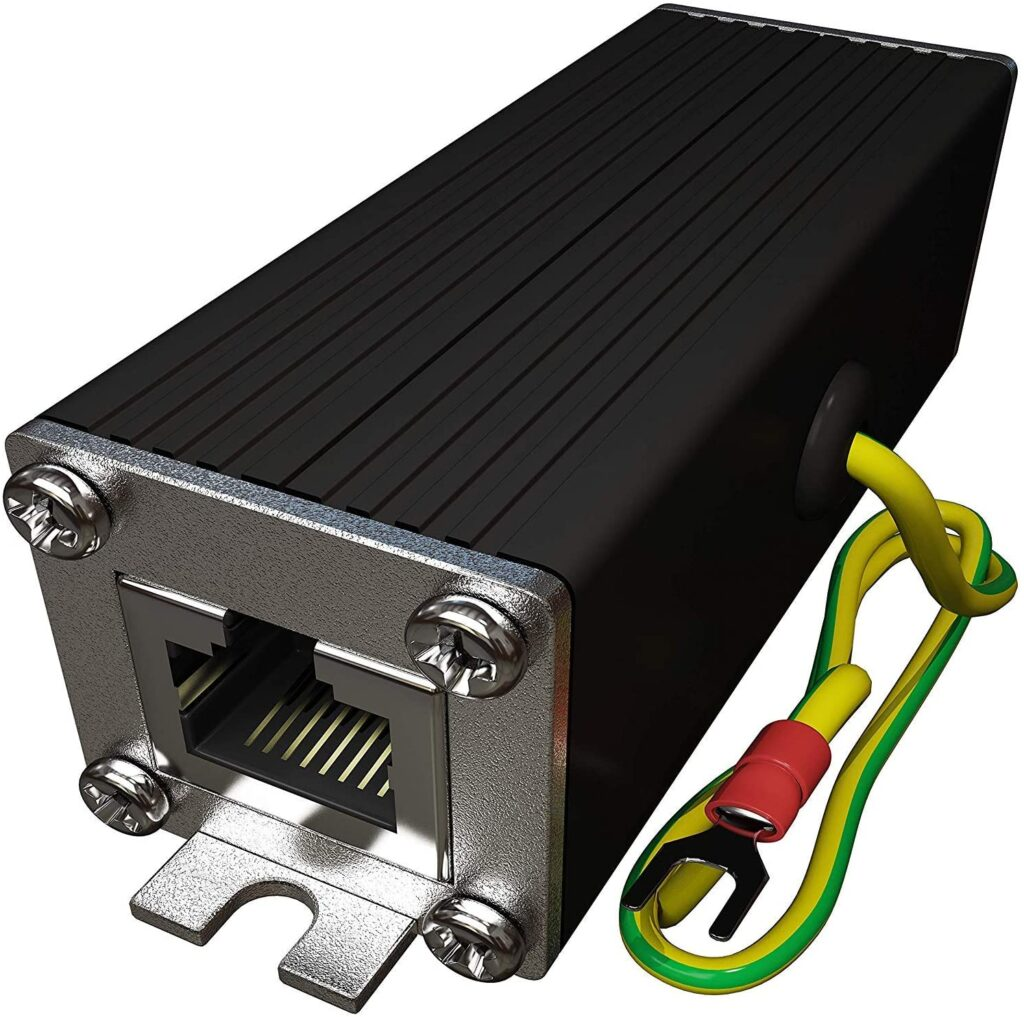 Ethernet Surge Protector For POE and Gigabit Network-10TechPro