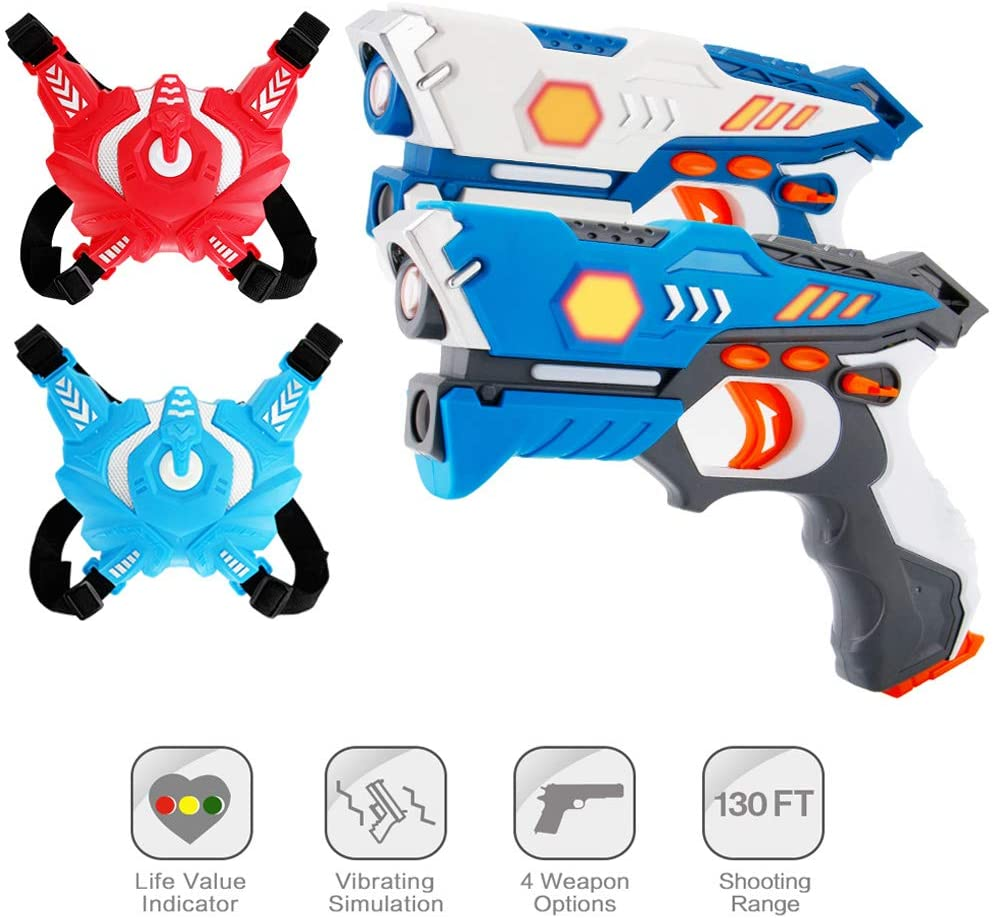 Best Laser Tag Set For Kids In 2021: The Ultimate Review-10TechPro